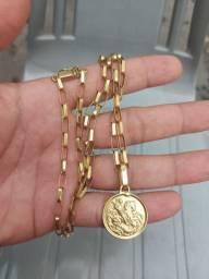 Vendo cordão de ouro 18 peso 16g