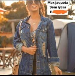 Jaquetão top ,veste p e m . Novo