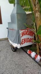 Vendo ou alugo  carrinho de choripan com bebidas