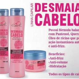Kit shampoo Desmaia Cabelo 4Produtos