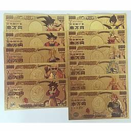 Cedula Nota Comemorativa Dragon Ball Z