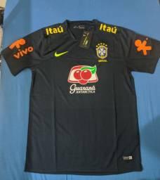 CAMISA BRASIL TREINO - OFICIAL