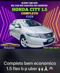 Honda city completo 1.5 flex