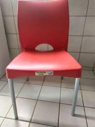 Cadeiras PVC