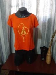 Título do anúncio: Blusa/camiseta em Malha NOVA - Tam.  G