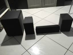 Home theater kit frontal c/ subwoofer