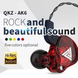 Qkz ak6 fone de ouvido para retorno de palco profissional