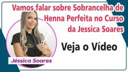 Sobrancelha de Henna Perfeita   Curso da Jessica Soares Sobrancelhas Perfeitas