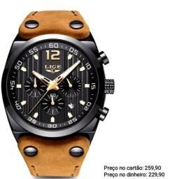 Relógio Masculino Original Lige Ótimo Acabamento