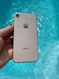 iPhone 8 64Gb - Rosê Gold - Semi novo