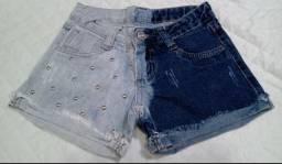 Short Jeans Tamanho 10