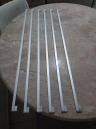 Maçanetas de alumínio