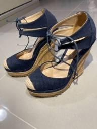 Sapato salto Schutz