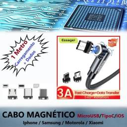 Cabo Ios Type C Usb Magnético Turbo Charger iPhone Android