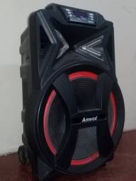 Caixa de som Amvox 500 RMS ,seguro de furto e roubo