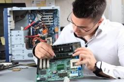 Manutenção peças e serviços Informática em geral
