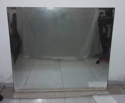 Espelho e porta de vidro 8mm