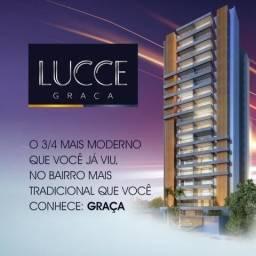 Lançamento 3/4 na Graça Lucce c/Varadão, Lavabo e 2 Vagas