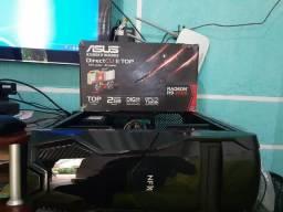 Intel core 2 quad q6600 6 memória 120GB ssd asus r9 270x 2gb ddr5 256bit