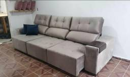 Sofa retratil e reclinavel - 3 metros- ultima vaga do ano -Leia o anuncio