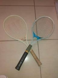 02 raquetes profissional por 200,00
