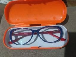 Oculos GUCCI azul e vermelho