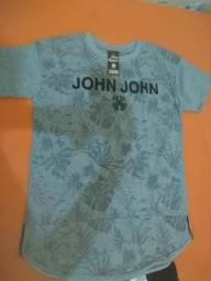 Camisas John john e Adidas