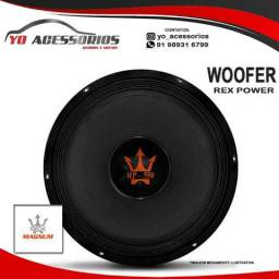 Woofer Magnum Rex Power 12'' 550W RMS 12RP-550 4 Ohms Bobina Simples