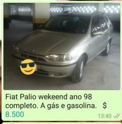 Fiat palio weekand ano 98 completo - 1998