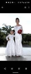 Vestido Noiva. Mãe e Filha
