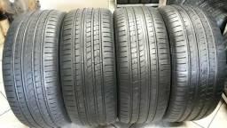 4 pneus Pirelli P-Zero, 265/45/20. SEMINOVOS.