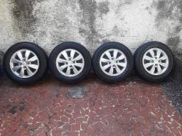 Jogo completo Hb20 com pneus