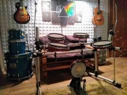 Bateria eletrônica Staff Drum (Módulo Alessia D4) comprar usado  Bebedouro