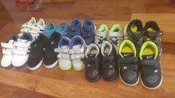 Tenis nike, adidas, asics e sandalia nike