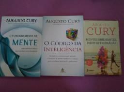Kit 3 livros Augusto Cury