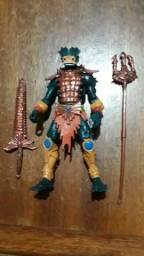 Boneco do Aquático da série do He-man de 2000
