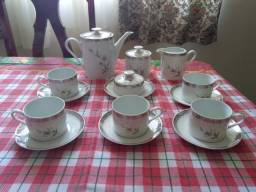 Jogo de chá em porcelana Schmidt