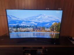 """TV Samsung UN55ku6300g, 55"""" curva, 4K, 120hz. TV top de linha e não versão de entrada"""