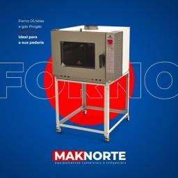 Título do anúncio: Fornos turbos progas 05 e 10Telas para padaria