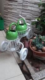 Bicicleta triciculo antiga pra decoracao de jardim