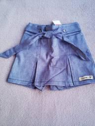 Short e Short/saia Jeans