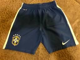 2 Calções Infantil oficial da Nike Seleção Brasileira