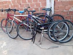 Vendo bicicletas usadas *leia* bike