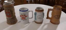 Canecas de chopp em porcelana