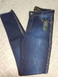 Calças jeans feminina excelente qualidade com elastano.