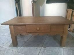 Mesa de centro, madeira de lei