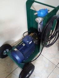 Lavadora jateadora alta pressão 200 bar