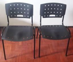 Cadeiras fixas de escritório