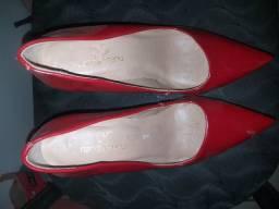 Sapato Vermelho Zap: * n.36
