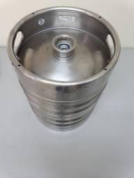 Barril de Chopp Aço - 15 litros